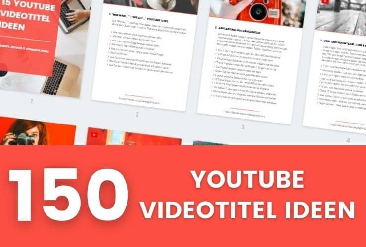 150 youtube videotitel ideen